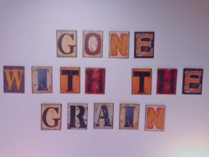 New gone with the grain