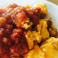 chorizo eggs recipe
