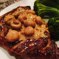 Recipe for Mushroom Brandy Sauce