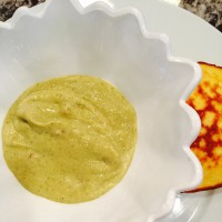 "Recipe for creamy ""split pea"" soup"