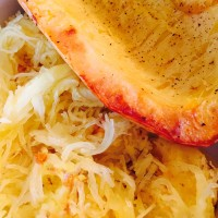 Recipe for Roasted Spaghetti Squash