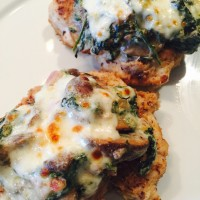 Recipe for Cheesy Spinach Chicken